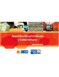 Informe Anual Presidencia 2014
