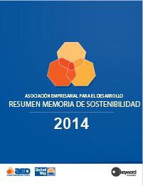 Resumen Memoria de Sostenibilidad 2014